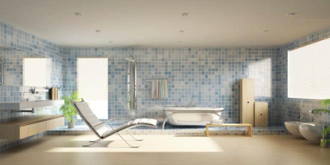 bodenfliesen im badezimmer fliesen trends 2016 f r badezimmergestaltung in wei und blau. Black Bedroom Furniture Sets. Home Design Ideas