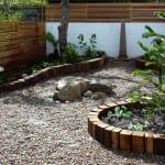 gartengestatung ideen mit DIY Garten- und Rasenkante
