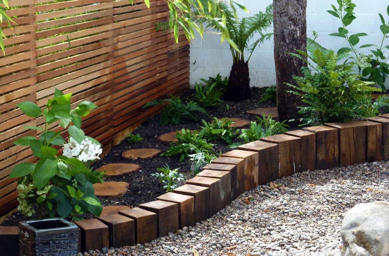 Gut gemocht Garten gestalten mit kreativer Rasenkante und Beetumrandung YK75