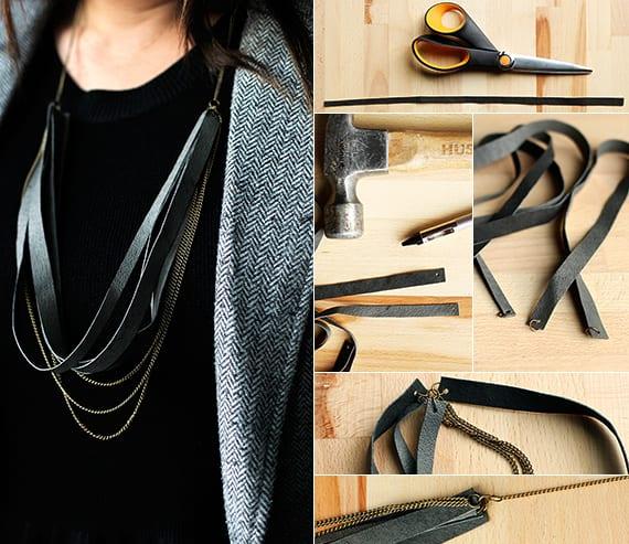 halskette basteln als coole Geschenkidee für DIY Geschenk