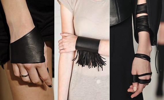 armband selber basteln aus leder