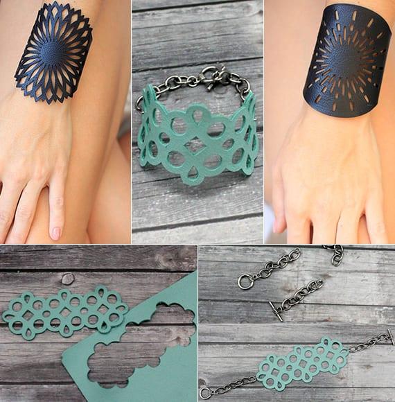 armband selber machen aus leder