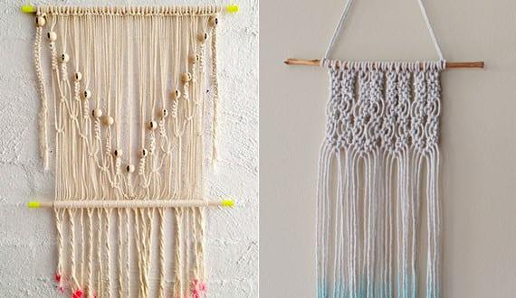 wandbehang deko selber machen makramee wanddeko ideen f r moderne wandgestaltung freshouse. Black Bedroom Furniture Sets. Home Design Ideas