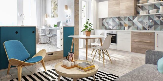 Kleine Wohnung modern und funktionell einrichten - fresHouse