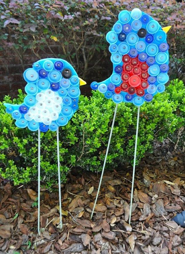 Gartendeko basteln mit kindern  50 Ideen für DIY Gartendeko und kreative Gartengestaltung - fresHouse