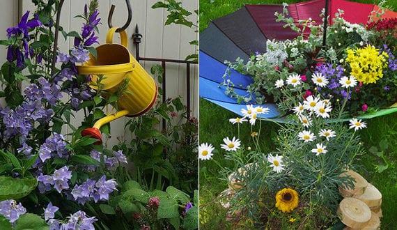 50 Ideen Fr Diy Gartendeko Und Kreative Gartengestaltung