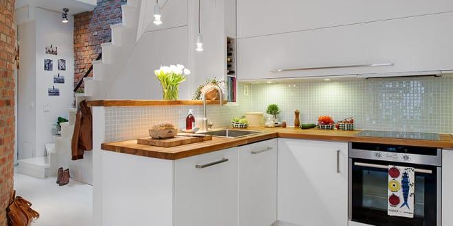 die komfortable wohnküche in der kleinen wohnung - freshouse, Hause deko