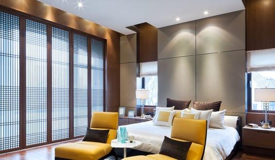 die richtige beleuchtung f r ein gem tliches schlafzimmer freshouse. Black Bedroom Furniture Sets. Home Design Ideas