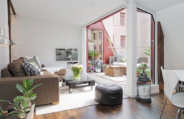 maisonette in göteborg eine traumwohnung im skandinavischen stil ... - Dachwohnung Im Skandinavischen Stil