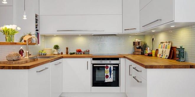 Maisonette_eine Traumwohnung und kleine Küche im skandinavischen ... | {Küchen skandinavischen stil 3}