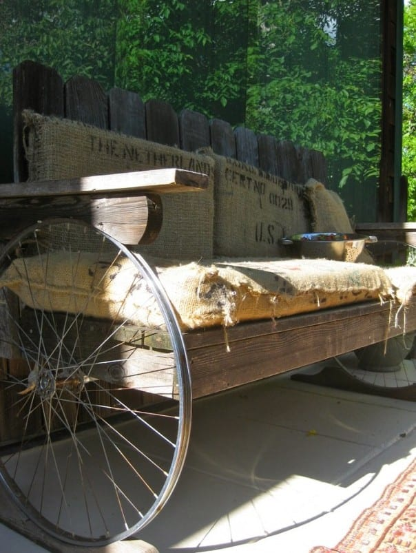 Recycling alter Fahrradfelgen und ihre Verwertung im Garten und Innenraum - fresHouse