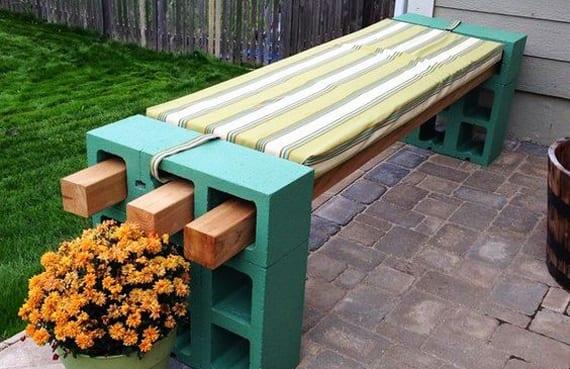 Bevorzugt 50 coole Garten Ideen für Gartenbank selber bauen - fresHouse NH85