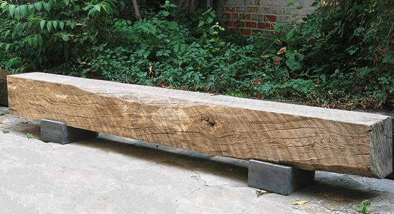 gartenbank massivholz selber bauen