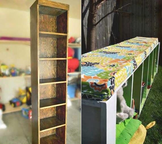 gartenmöbel selber bauen_tolle inspiration für gartenbänke