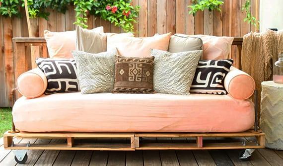 bauen mit paletten_gartenbank und sofa selber bauen aus paletten