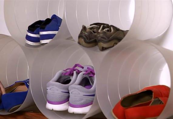 Schuhregal selber bauen rohre  Wie kann man Schuhregal selber bauen? - fresHouse