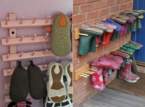 Schuhregal selber bauen  kreative-Wohnideen-für-Schuhregal-selber-bauen - fresHouse