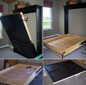 bett selber bauen f r ein individuelles schlafzimmer design diy klappbett freshouse. Black Bedroom Furniture Sets. Home Design Ideas
