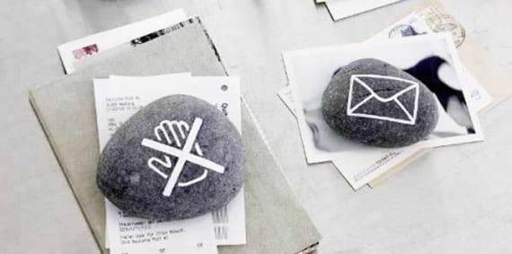einfache und coole deko und bastelideen mit steinen