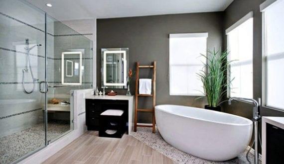 Deko-Ideen-mit-Steinen-für-innen-und-außen_modernes-badezimmer-mit ...
