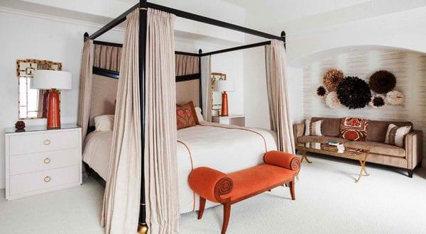 african interior design f r eine reizende schlafzimmergestaltung freshouse. Black Bedroom Furniture Sets. Home Design Ideas