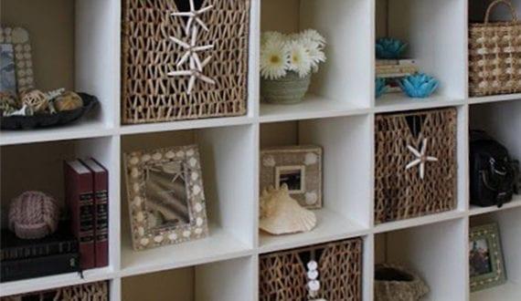 Bassteln mit muscheln coole dekoidee fuers wohnzimmer mit for Coole wandbilder wohnzimmer
