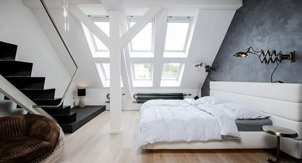 Dachgeschosswohnung - Die Vorteile Unterm Dach Zu Wohnen - Freshouse Schlafzimmer Unterm Dach