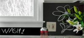 Die alte Küche mit neuem Fliesenspiegel verschönern