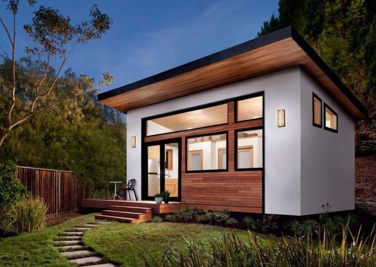 ein kleines traumhaus mit moderner gestaltung und funktioneller wohnfläche mit raumsparende einrichtung