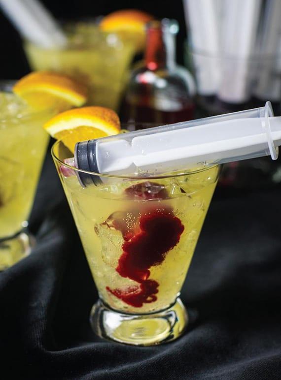einfache rezepte für originelle halloween Cocktails mit wodka