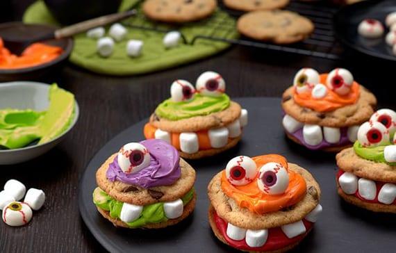 coole halloween rezepte für halloween süßigkeiten und halloween kinder party