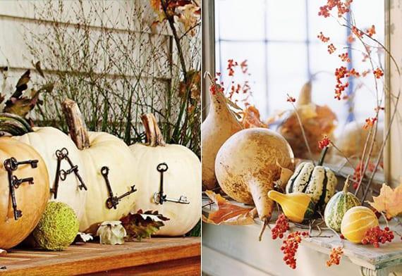 Wunderschöne und einfache Herbstdeko basteln - fresHouse