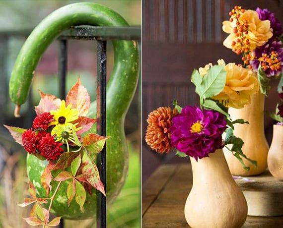Herbst dekoration basteln windlichter und kerzenhalter im for Herbstdeko 2016 draussen