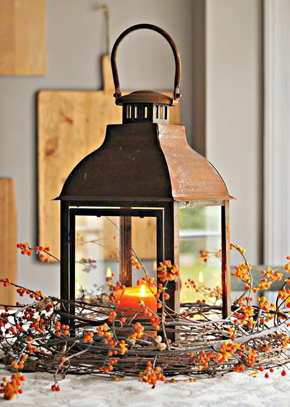 Einfache Herbstdeko Tisch wunderschöne und einfache herbstdeko basteln - freshouse