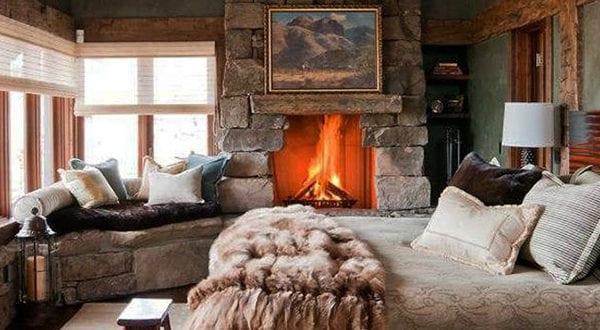 Wie lässt sich im Winter ein Schlafzimmer gemütlich gestalten