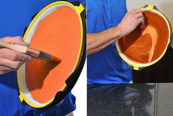 wand streichen ideen für schnelle wandgestaltung mit der passenden wandfarbe