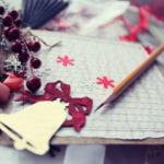 coole weihnachtskarten basteln und gestalten mit stil