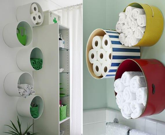 design handtuch aufbewahrung