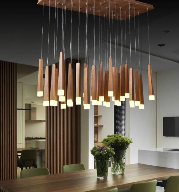 Holz und Licht – 20 unglaubliche Designerlampen aus Holz - fresHouse