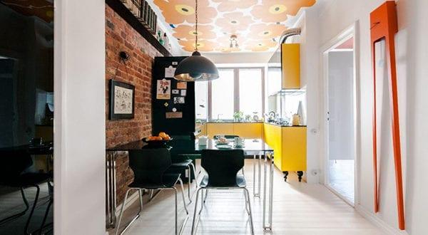 Eine moderne Wohnung im Zeitgeist der 60er Jahre