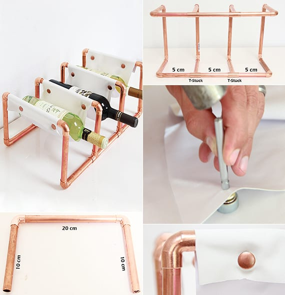 so einfach kann man ein eigenes weinregal selber bauen. Black Bedroom Furniture Sets. Home Design Ideas