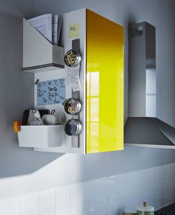 tipps zum küche organisieren und aufräumen_kreative ideen für Aufbewahrung in der Küche