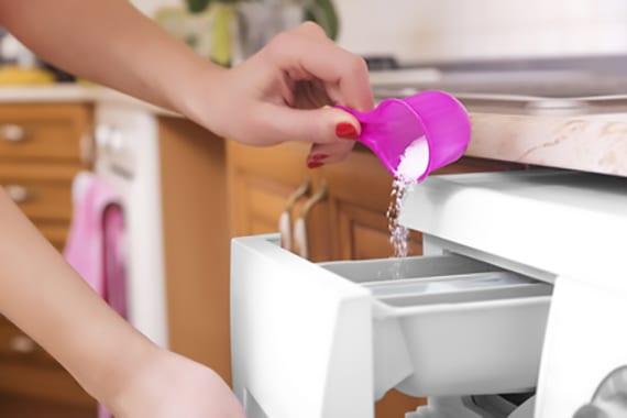 geruch in der waschmaschine vermeiden durch waschen bei höheren temperaturen