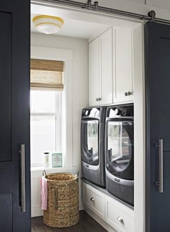 der passende platz für waschmaschine und trockner in kleinem raum