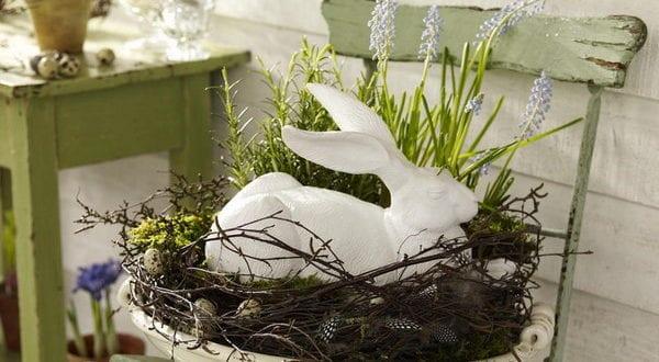 Attraktive Osterhase-Dekoideen zum diesjährigen Ostern