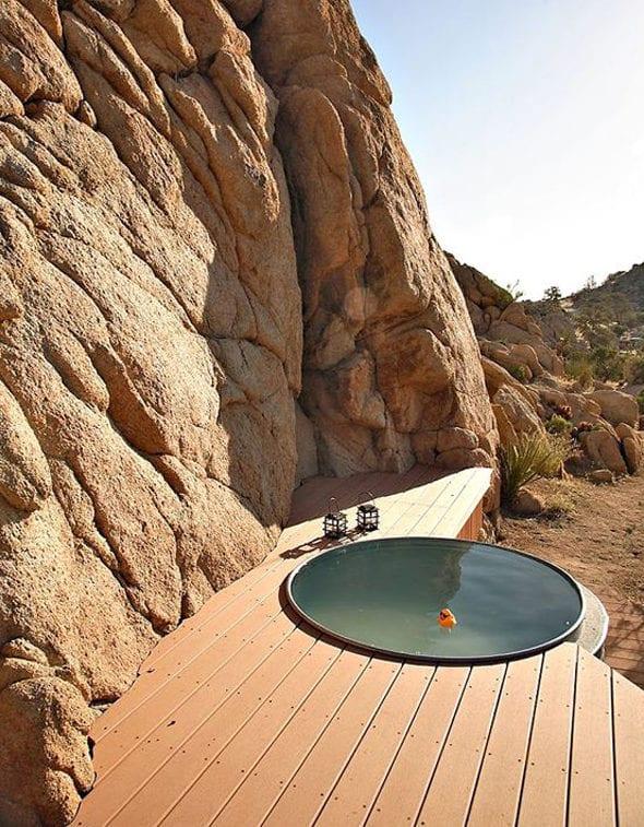 coole garten ideen mit tauchbecken für badespaß im sommer und coole gartengestaltung
