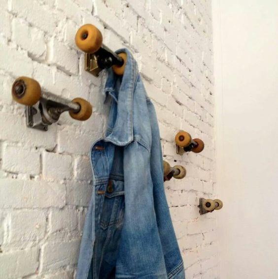 kreative wandgestaltung Jugendzimmer mit DIY wandhacken
