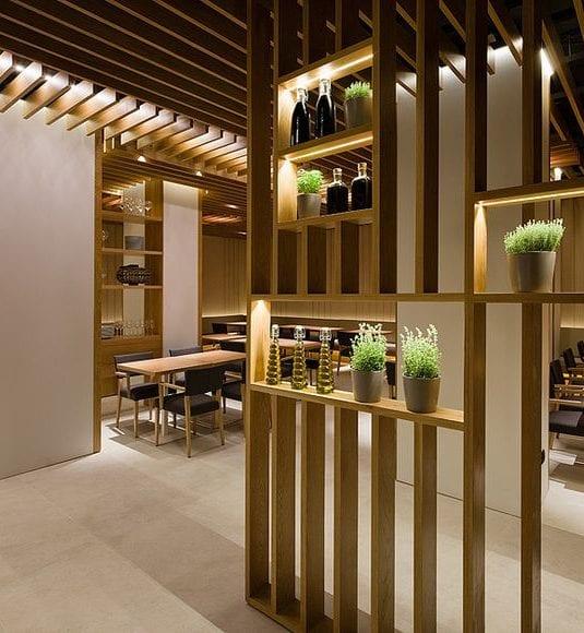 Extrem Große Räume sinnvoll aufteilen - Raumteiler nach Maß - fresHouse CS36