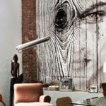 wände dekorieren mit persönlichen fotos auf holz und metall