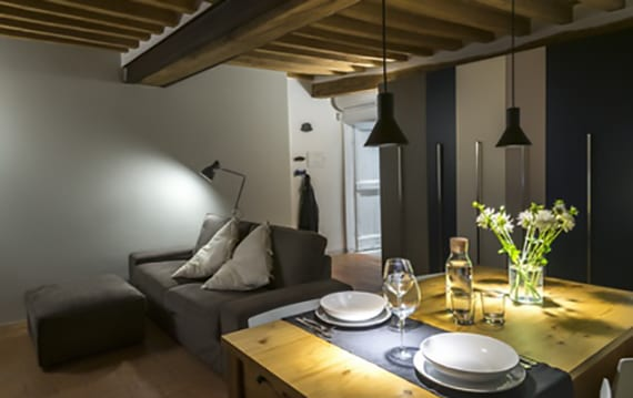 verschiedenen bereiche im wohnesszimmer definieren mit licht